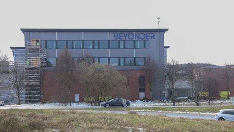 UTVIDE: Beyonder flyttet i fjor sommer inn i Stavanger Aftenblads tidligere trykkeri på Lura. Nå vil de utvide virksomheten her.