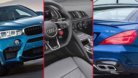 Heftige biler fra BMW, Audi og Mercedes er blant de store vinnerne i det nye bilavgift-systemet.