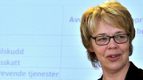 BLIR SATT PRIS PÅ? Sarpsborg kommune er en av tre kommuner som kan få Innovasjonsprisen torsdag. Unni Skaar er spent på utfallet av prisutdelingen.