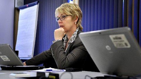 EKSTERNE UTFORDRINGER: Rådmann Unni Skaar understreker at overskridelsene i barnevernet ikke skyldes interne forhold eller dårlig styring.
