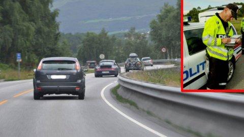 Mange synder mot regelen om å holde tilstrekkelig avstand i trafikken. Fra 1. januar blir det dyrere å ligge for tett på bilen foran.