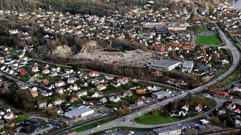 LANGT FRAM:  Det kan gå ytterligere sju år før fylkesvei 109 er utvidet fra to til fire felt mellom Sarpsborg og Fredrikstad.