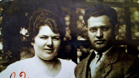 Drept i 1942: Rakel og Jacob Feldmann.
