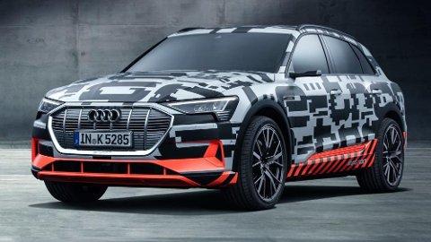 Fra i overkant av 600.000 kroner – det er indikasjonen på hva Audi e-tron vil koste når den kommer til Norge mot slutten av året. Det er i så fall en svært konkurransedyktig pris.