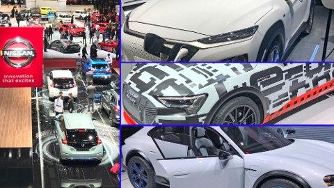 Årets bilutstillingen i Genève byr på en rekke interessante elbilnyheter. Vi har kikket på de 10 mest interessante, sett med norske øyne.