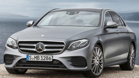I følge tyske ADAC er denne Mercedesen med 2-liters dieselmotor mer miljøvennlig enn Tesla Model X.