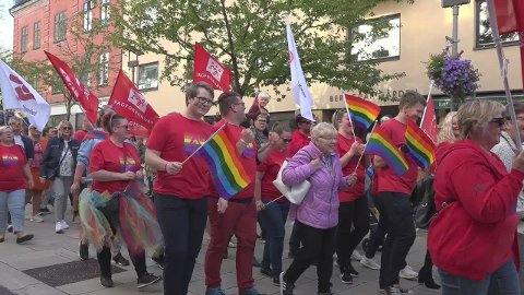 TRUSLER: Den unge sarpingen skal via internett ha fremmet det som kan tolkes som konkrete tursler mot helgens Pride parade i Fredrikstad.