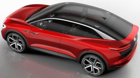 Volkswagen kommer med en rekke elektriske biler de kommende årene. VIZZION på bildet over er først ut av SUV-ene, så følger en større utgave med sju seter i 2022.