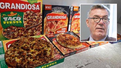 HOT: Nordmenn elsker Pizza Grandiosa, og det gjør formodentlig Stein Erik Hagen også. - Orklas merkevarer med Pizza Grandiosa i spissen gjør Orkla til en vinneraksje, konkluderer analytiker etter at Hagen har sett sine verdier skyte i været.