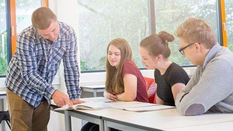 VIDEREGÅENDE: Nærmere 400 ønsker å gå på idrettsfag på videregående skole i Østfold til høsten. Søkertallene til de ulike linjene svinger fra år til år. Illustrasjonsbilde.
