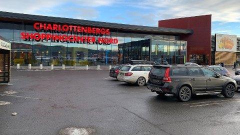 ETTERTRAKTET: Det Thon-eide Charlottenberg Shoppingcenter hadde over 30.000 besøkende på én dag.