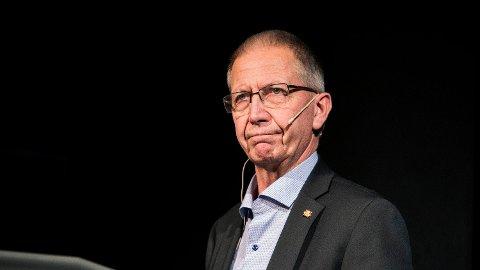 DØD: Vegdirektør i Statens Vegvesen, Terje Moe Gustavsen, er død. Han ble 64 år gammel.