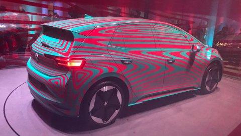 Her er den offisiell: Volkswagens nye elbil ID.3.