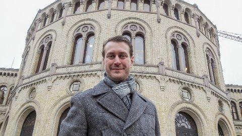 Helge André Njåstad, kommunalpolitisk talsmann i Frp. (Foto: Bjørn Inge Bergestuen, Frp)