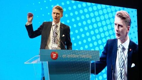 NY LEDER: Andreas Brännström tar over stafettpinnen i FpU.