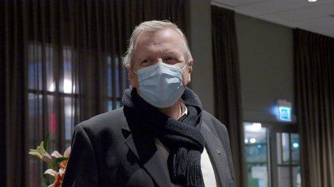 NYE PROGNOSER: Helsesjef Øivind Werner Johansen kommer med nye prognoser om vaksineringen mot covid-19-sykdom.