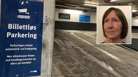 IRRITERT: - Det virker som om de vil at folk ikke skal få betalt, sier Sissel Ødegaard, som har opplved mye kluss og uforholdsmessig høye fakturagebyr fra Apcoa Parking. (Foto: Morten Solli / Privat)
