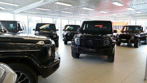 Autocenteret Fjelstad AS har både nye og gamle G-wagen – og er blant de største forhandlerne i verden av det ikoniske merket.