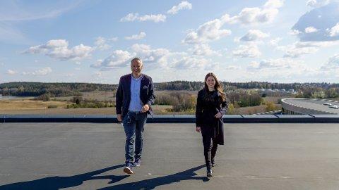 Martin F. Vatne og Heidi Therese Ose ser fram til et nytt samarbeid.