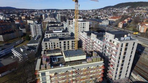 GREFSEN: Østfold Rør har et tett samarbeid med boligutvikleren JM Norge, som står bak den store utbyggingen på Storo like ved ring 3.