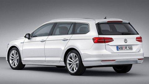 Dette er helt nye VW Passat GTE, en ladbar hybrid som det knyttes store forventinger til.