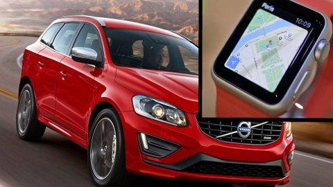 Volvo åpner for at du kan styre flere funksjoner på bilene deres fra en smartklokke, som for eksempel Apple Watch.