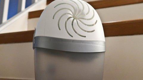 En fuktsluker trekker til seg fukten i rommet, og bidrar til et bedre inneklima.