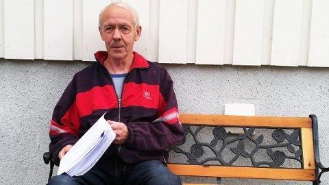 Den tidligere Vegvesen-ansatte Erling Magne Hind er lei av papirarbeid etter i flere omganger å ha sagt fra om feil beregningsgrunnlag og regnefeil i pensjonen fra Statens pensjonskasse.