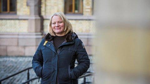Mona Lill Fagerås er utdanningspolitisk talsperson i SV.