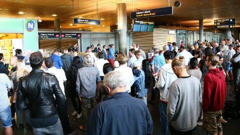 21. og 22. desember er dagene med flest forsinkelser i flytrafikken før jul.