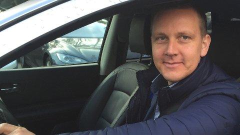 Roger Ytre-Hauge er fagsjef på motor i Frende.