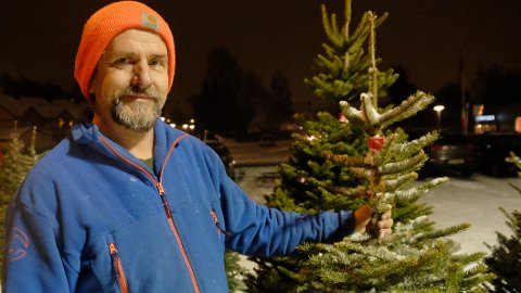 Juletredyrker Ole Martin Eggen tror populariteten til fjelledelgran skyldes at det er et fint og smalt tre, og at det holder på nålene.