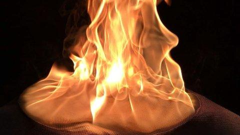 En ny test viser at branntepper ofte ikke er til å stole på.