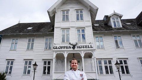 Hotellsjef Preben Moen og Gloppen Hotell i Sandane kom på andreplass i kåringen.