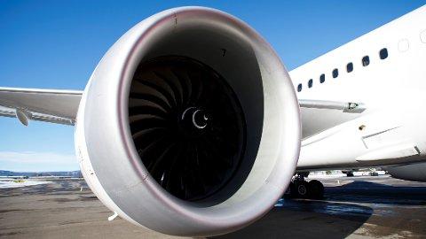 Innen 2040 skal motorer som denne byttes ut med elmotorer på fly i Norge, ifølge Avinor-sjefen.