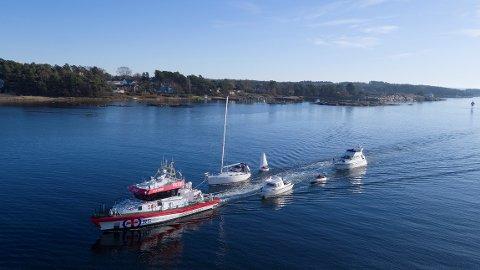 Redningsselskapet assisterte 20.000 personer på sjøen i fjor.