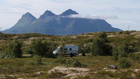 Det blir stadig flere bobiler i Norge.