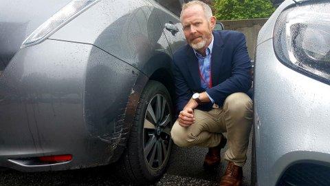 Skadedirektør Svein-Arne Kausland i Tryg Forsikring.