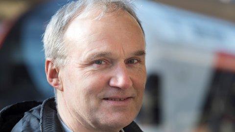 Øker omsetningen: Konsernsjef Geir Isaksen i NSB legger fram gode resultater for NSB for 2017, men er misfornøyd med punktligheten.