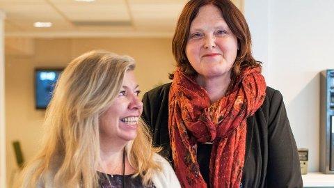 Eva Bekkelund-Eriksen (t.h.) og Ellen Hov Aanæs vil at Nav skal snakke mer som folk flest.