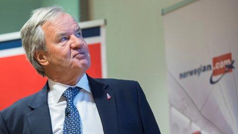 Fjerde kvartal 2017 var ikke bra for Norwegian og konsernsjef Bjørn Kjos. Underskuddet ble på 1,4 milliarder kroner.