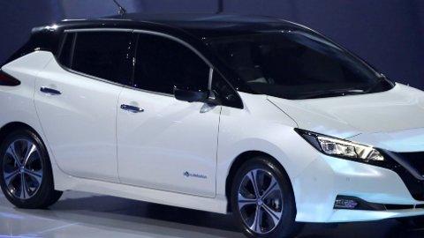 Det er allerede solgt over 7.000 eksemplarer av Nissan Leaf i år.