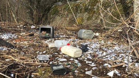 Det meste av det som kastes i naturen, er plast.