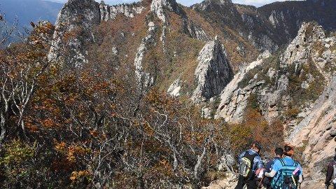 Seoraksan nasjonalpark er blant de aller vakreste parkene på hele den koreanske halvøya.