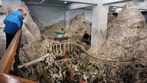 Miniatur Wunderland byr på en av verdens lengste modelljernbaner.
