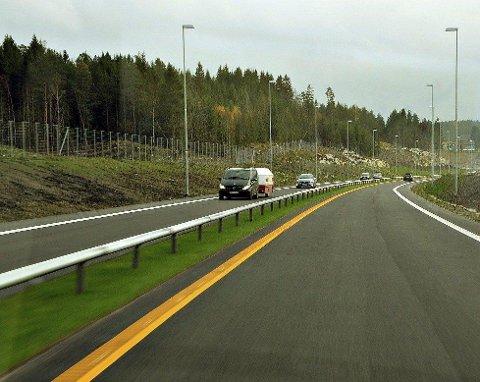 TATT PÅ E18: Politiet raser etter å ha avslørt enda en fartssynder på E18.