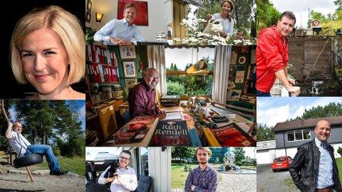 Mange strykninger: Svein Roald Hansen (68, midten) fikk flest strykninger på valglistene i Østfold. Også de andre innvalgte på Østfold-benken ble strøket mange ganger: Elise Bjørnebekk-Waagen, Tage Pettersen, Ingjerd Schou, Stein Erik Lauvås, Ole André Myhrvold, Freddy Øvstegård, Ulf Leirstein og Erlend Wiborg.