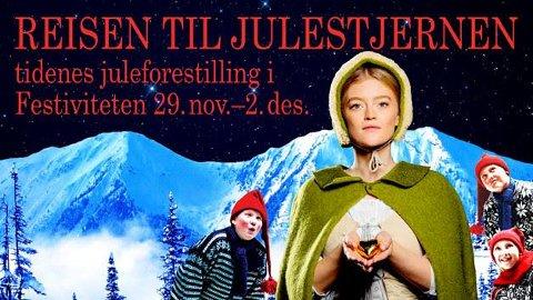 """Nok en gang settes """"Reisen til julestjernen"""" opp i Eidsberg."""