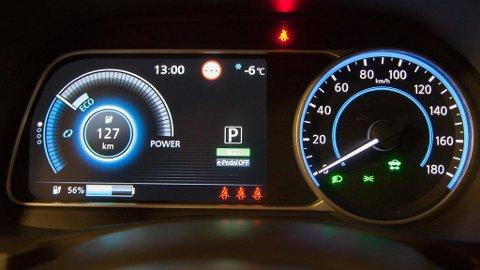 Ved å trykke på denne knappen, slipper du i praksis å bruke mer enn én pedal når du kjører.