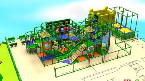 LEKELAND: I utbyggingsplanene inngår blant annet et lekeland på 5-600 kvadratmeter.